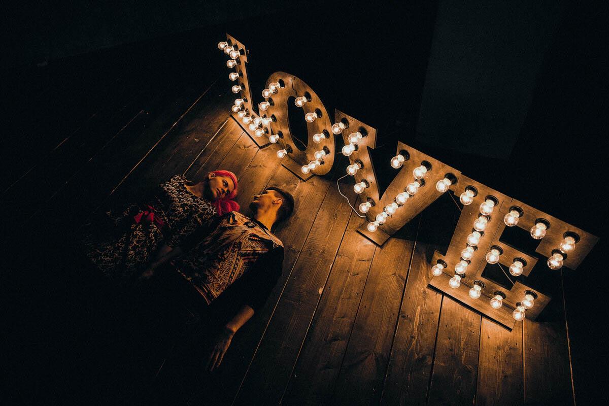 Любовь с розовыми волосами - Фотограф Виктория Куприна